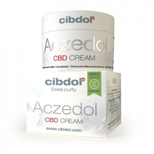 Product image of Aczedol, purifying CBD cream (against pimples)
