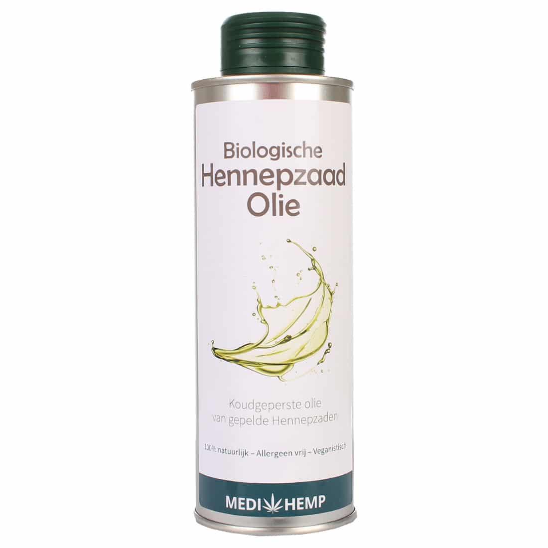 Medihemp organic hemp seed oil from shelled hemp seeds (250ml)