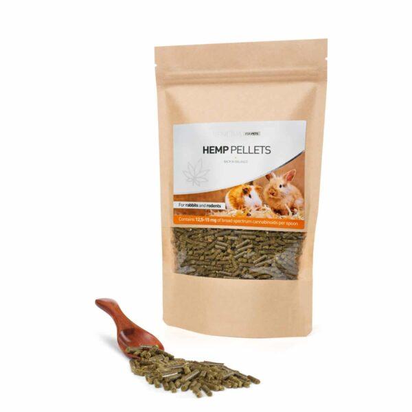 Granules-hemp-CBD-rabbit-rodents